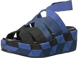Salvatore Ferragamo Elastic Platform Slip-On Sneaker
