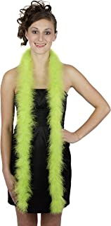 Zucker Feather Products Medium Weight Marabou Boa, Lime