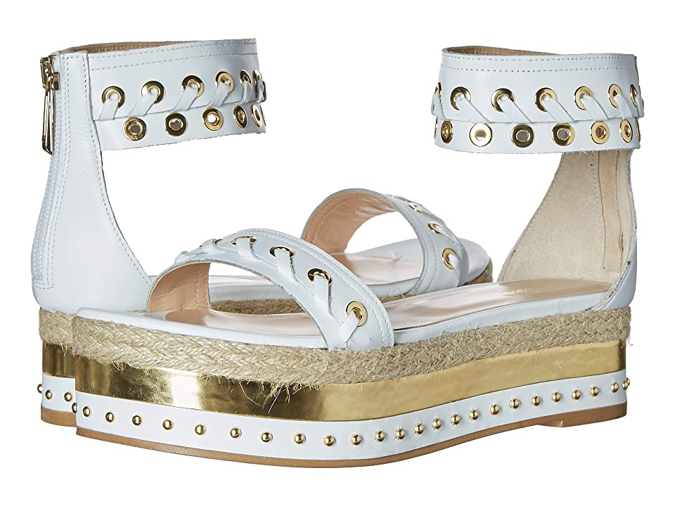 Just Cavalli Calf Leather with Mirror and Rope (Off-White) Women