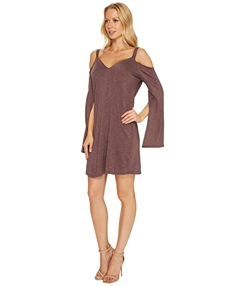 Cold Mini Shoulder Split Sleeve Dress Lanston UxgwpBOdqg