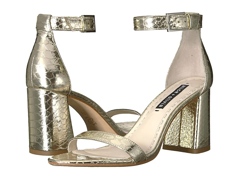 Alice + Olivia Lillian (Light Gold) Women