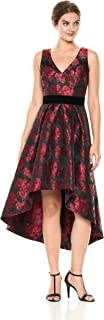 eliza j floral fit and flare