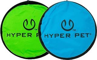 Hyper Pet Flippy Flopper Dog Frisbee Interactive Dog Toys [Flying Disc Dog Fetch Toy..