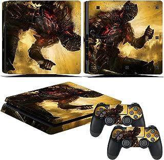 EBTY-Dreams Inc. - Sony Playstation 4 Slim (PS4 Slim) - Dark Souls 3 Video Game The Ashen One Vinyl Skin Sticker Decal Protector