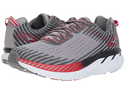 Hoka One One Clifton 5 (Alloy/Steel Gray) Men