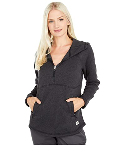 The North Face Crescent Hooded Pullover (TNF Black Heather 2) Women