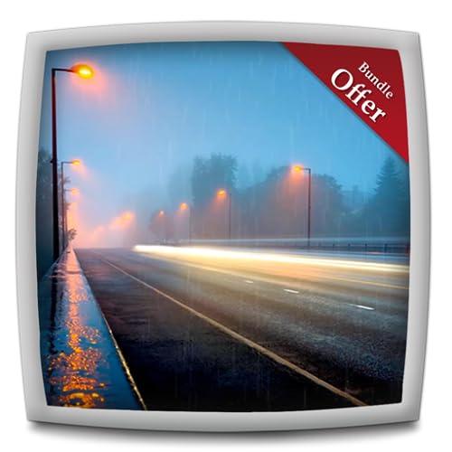 Romantic Rainy Road - HD Wallpaper & Themes