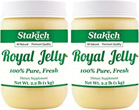 Stakich Fresh Royal Jelly - 100% Pure, All Natural, Highest Quality - No Additives/Flavors/Preservatives Added - 2 KG