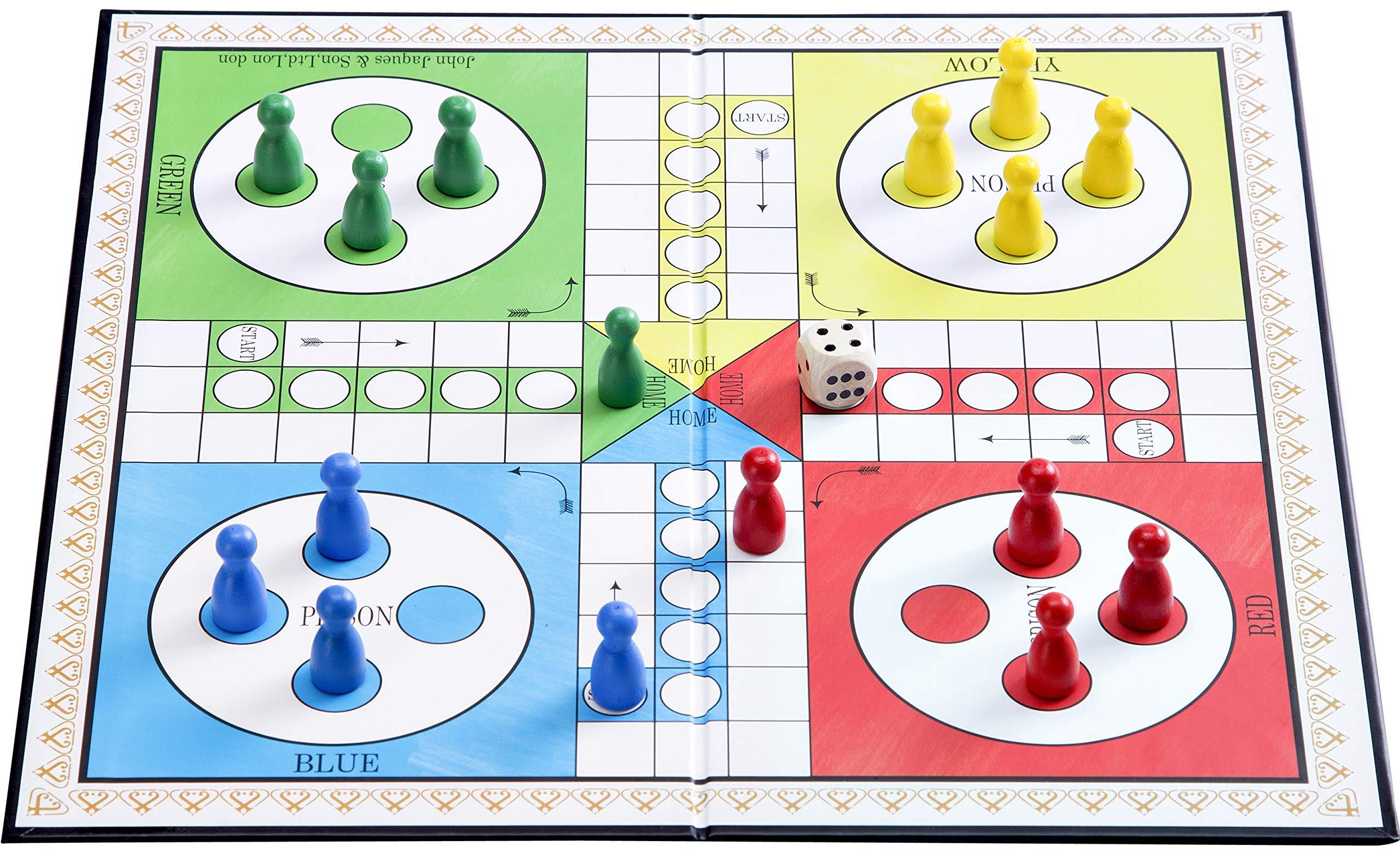 12 Ludo en Cartas y Tablero Ropa: Amazon.es: Juguetes y juegos