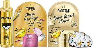 Pantene Pro-V by CHIARA FERRAGNI Miracle Shampoo Protezione Cheratina, 250 ml + 2 x Maschera&Cuffia per Capelli, 1 Mascher...