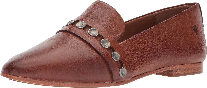 FRYE Woherren Terri Terri Hammerot Stud Loafer Flat, Cognac, 7 M US  weltberühmter Online-Verkauf