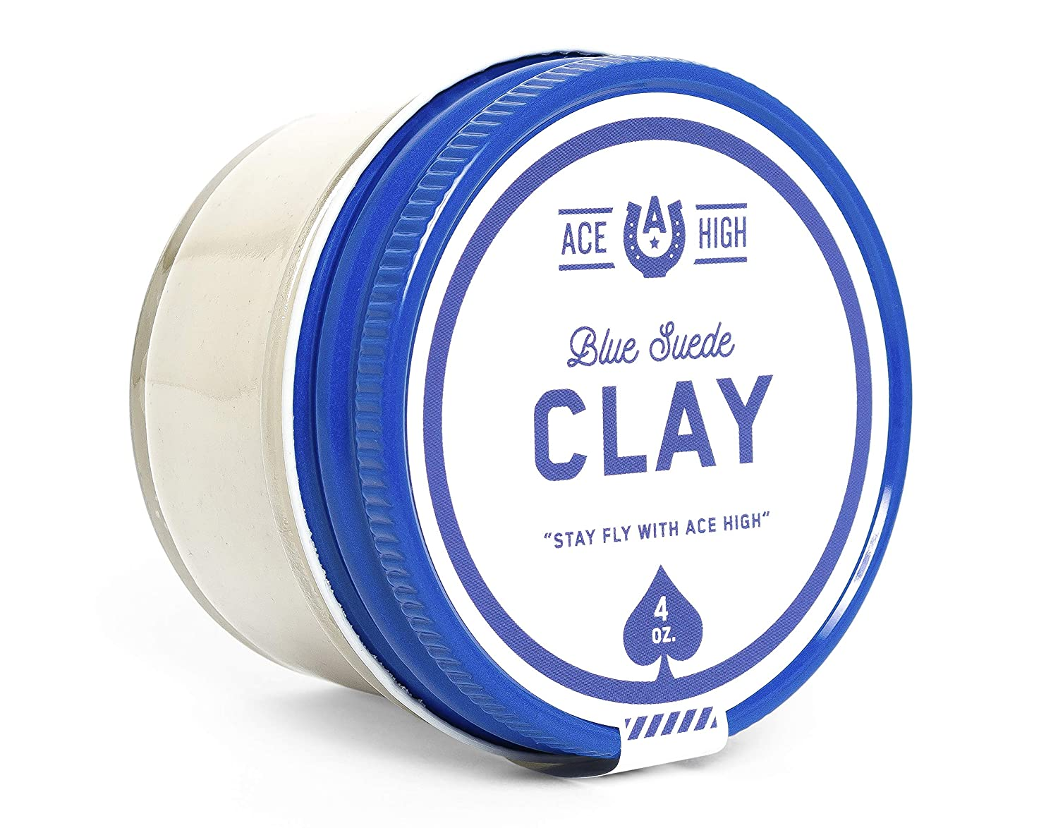 Ace High Blue Suede Hair Clay to Be super welcome Strong Satin Hold Max 87% OFF Finis Matte