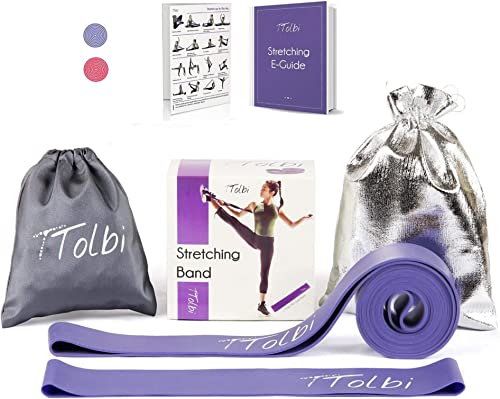 TTolbi Dance Equipment : Stretch Bands for Dancers and Ballet | Dance Stretch Bands for Flexibility, Mobility and Str...