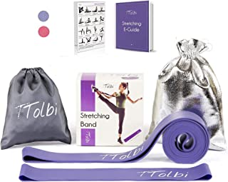TTolbi Stretch Bands for Dancers, Ballerinas and Gymnasts   Dance Stretch Bands for Flexibility, Mobility and Strength   S...