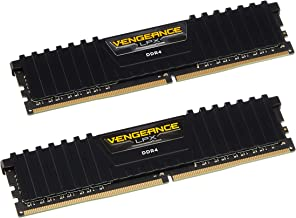 Corsair Vengeance LPX 8GB (2x4GB) DDR4 DRAM 2400MHz (PC4-19200) C14 Memory Kit - Black