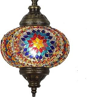 (31 Models) Handmade Pendant Ceiling Lamp Mosaic Shade, 2019 Stunning 16.5
