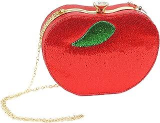 red apple handbag