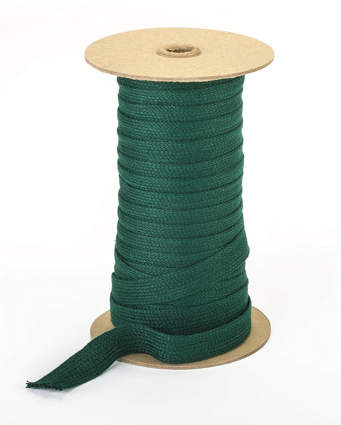 Pearl Trim Acrylic Braid, Green