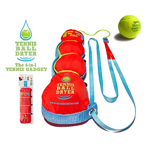 Tennis Ball Dryer - 4-in-1 Tennis Accessory - Voted  Best Tennis 35603d97c2a03