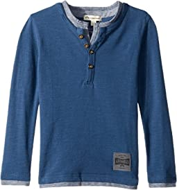 Soft Camden Long Sleeve Henley (Toddler/Little Kids/Big Kids)