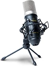 Marantz Professional MPM1000 | Large Diaphragm Condenser Microphone with Windscreen, Shockmount, Tripod Stand and XLR Cable