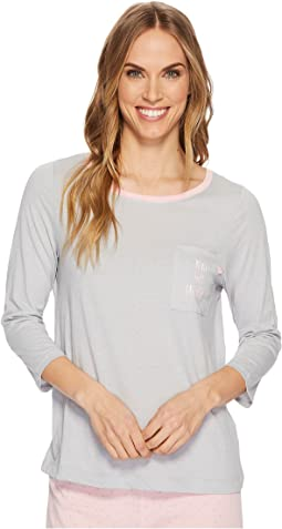 Jockey - 3/4 Sleeve Top