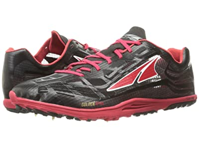 Altra Footwear Golden Spike (Black/Red) Athletic Shoes