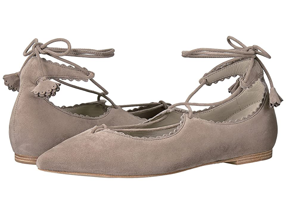 Kennel & Schmenger Tassel Lace Zone Flat (Ghost Suede) Women