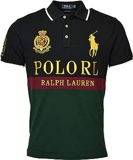 POLO RALPH LAUREN Mens Custom Slim Fit Embellished Polo Shirt