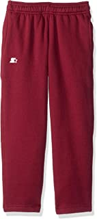 Starter Girls' Open-Bottom Sweatpants with Pockets, Amazon Exclusive