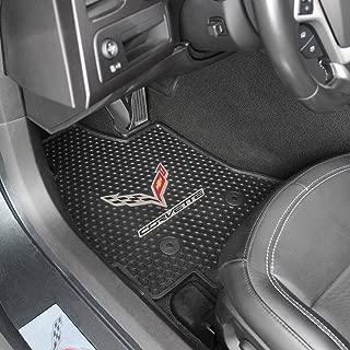Lloyd Mats Corvette C7 Signature Rubber All Weather Floor Mats 2014 - ON 2pc Set
