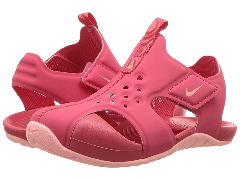 Nike Kids Sunray Protect 2 (Infant/Toddler) (Tropical Pink/Bleached Coral) Girls Shoes