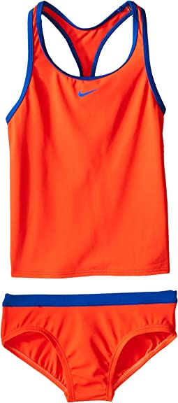 Solid Racerback Tankini (Big Kids)