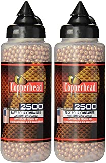 Airgun Ammo: Copperhead BB's- 2500 CT. Copper Coated 2 Pack of 2500
