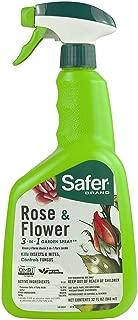 Safer Brand 5454 Rose & Flower 3-in-1 Garden Spray – 32 oz