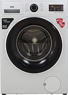 IFB 7 Kg Fully-Automatic Front Loading Washing Machine (SERENA ZXS, Silver)