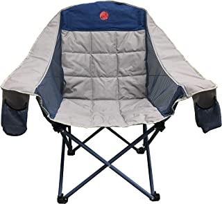 OmniCore Designs MoonPhase Home-Away LoveSeat Heavy Duty Oversized Folding Double Camp Chair Collection (Single, Double, Triple)