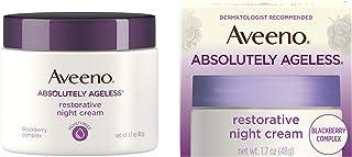 Aveeno Absolutely Ageless Restorative Night Cream Facial Moisturizer with Antioxidant-Rich Blackberry Complex, Vitamin C &...