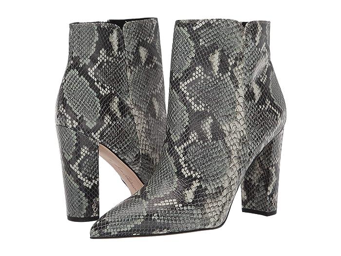 70s Shoes, Platforms, Boots, Heels Sam Edelman Raelle Mint Multi Exotic Snake Print Leather Womens Shoes $78.40 AT vintagedancer.com