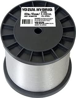 Yo-Zuri Clear Hybrid Fishing Line 60lb, 3 lb