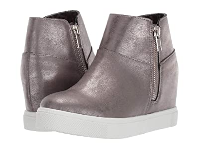 Steve Madden Kids Wanda (Little Kid/Big Kid) (Pewter) Girl