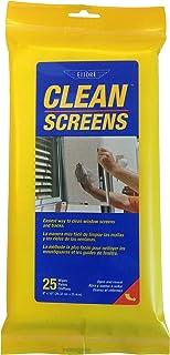 Ettore Clean Screens, 25 Wipes Per Pack, 1