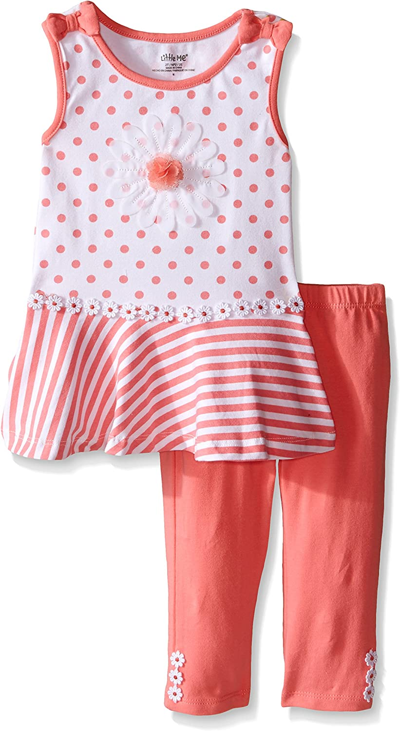 flowers Scalable tunic clothing baby romantic grow with me girl