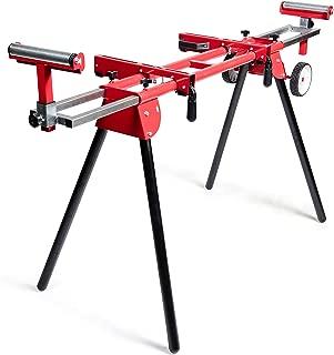 General International MS3102 Miter Saw Stand, Red, Black & Gray
