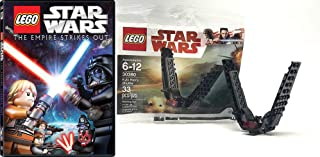 Empire Ultimate Lego Bundle: Lego Star Wars The Empire Strikes Out (DVD) + LEGO Kylo Ren`s Shuttle 30380 Poly Bag 2 Item Set