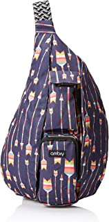Rope Sling Bag, Backpack for Women – Canvas Crossbody Shoulder Sling for Travel,..