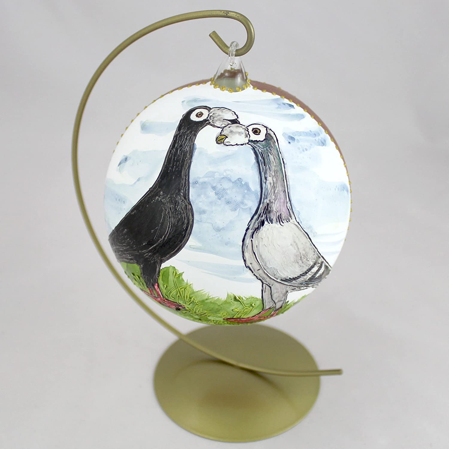 Carrier (second), bird bauble with stand limited edition ArtDog