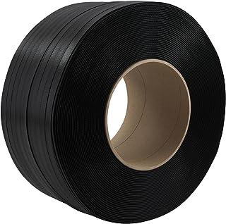 Kern 200 mm für Maschine 4000 m 2 Rollen 9 mm PP-Umreifungsband schwarz