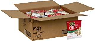 Ritz Chips, Sour Cream & Onion, 1.75-Ounce Single-Serve Packages (Pack of 60)