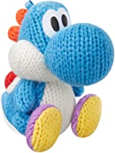 $22 » Light Blue Yarn Yoshi Amiibo (Yoshi's Woolly World Series)